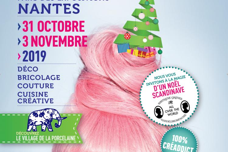 salon des loisirs créatifs à la Beaujoire du 31 octobre au 3 novembre 2019